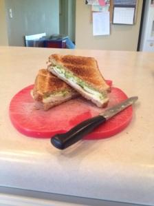 egg avo sandwich