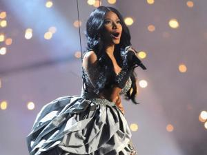 Nicki Minaj performed and hosted at the 2014 EMA's