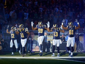 USP NFL: OAKLAND RAIDERS AT ST. LOUIS RAMS S FBN USA MO